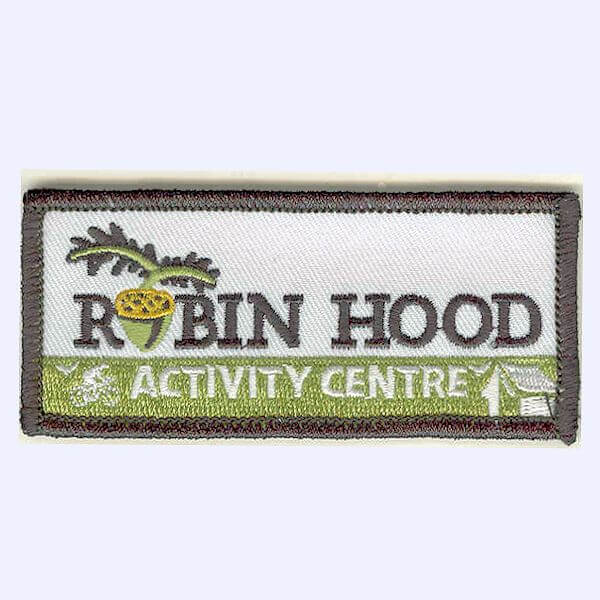Robin Hood Activity Centre, Sherwood Forest badge