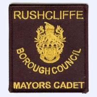 Rushcliffe Councail Mayors Cadet Badge badge