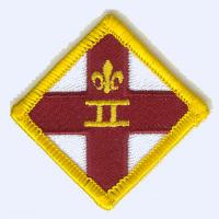 2nd Exeter Scout Group Necker Badge badge