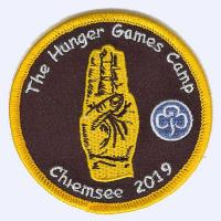 Hunger Games Camp Chiemsee 2019 badge