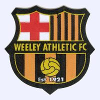 Nottingham Badges | Weeley Athletic Football Club badge