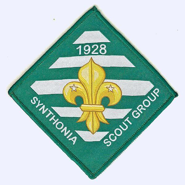 Synthonia Scout Group 90th anniversary badge