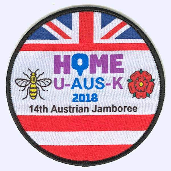 Whalley Scout Group Austrian Jamboree 2018 badge