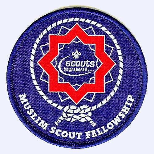 Muslim Scout Fellowship badge