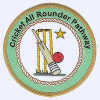 Cricket All-Rounder Pathway badge badge