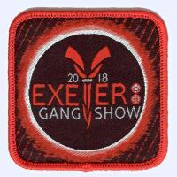 Exeter Gang Show 2018 badge