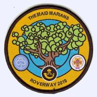 Maid Marians Roverway Camp 2018 badge