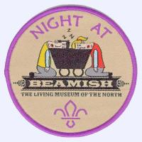 Beamish Museum Sleepover badge