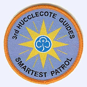 3rd Hucclecote Guides badge