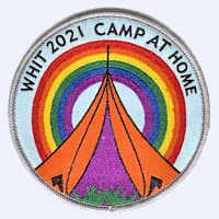 Whitsun camp at home 2020 badge