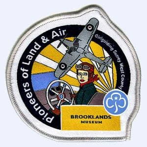 Brooklands Museum Sleepover 2021 badge