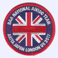Nottingham Badges | BAA National Aikido Team 2017 badge
