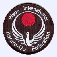 Nottingham Badges | Wado International Karate-Do Federation badge