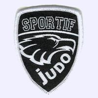 Nottingham Badges | Black Sportif Judo Badge badge