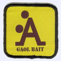 Nottingham Badges | Gaol Bait badge