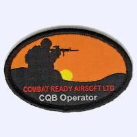 Nottingham Badges | Airsoft Ltd CQB Operator badge