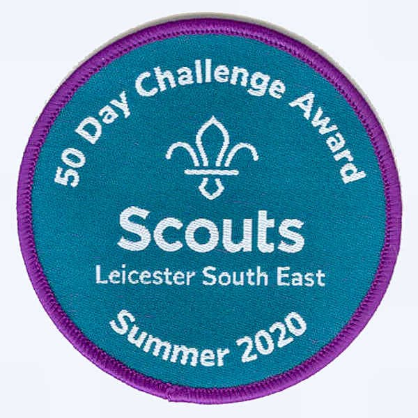Leicester South East 50-day Challege 2020 badge