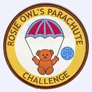 1st Highworth Brownies Parachute Challenge badge