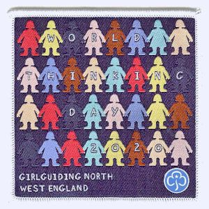 Girlguiding North West Thinking Day 2020 badge