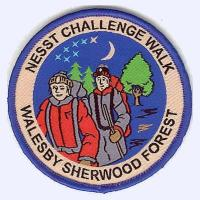 NESST Walesby Challenge Walk badge