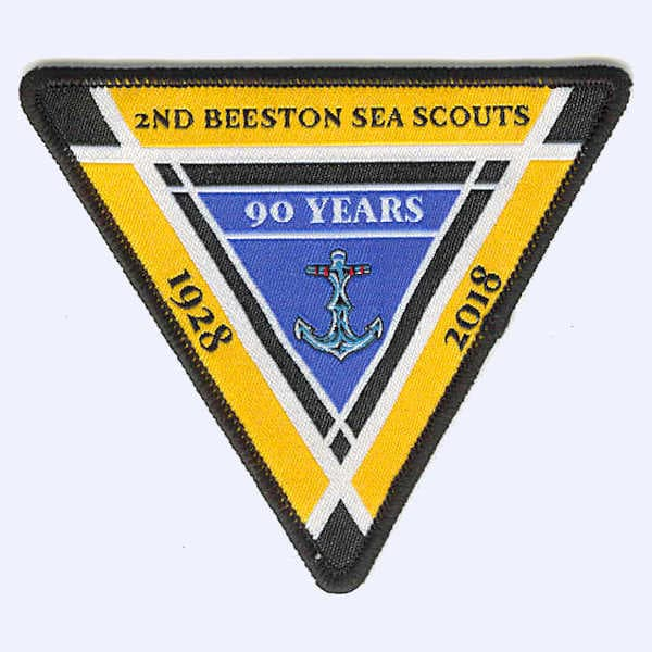 Abington Guides Centenary badge