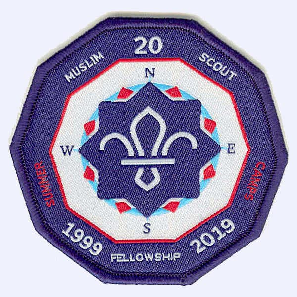 Thameside Sea Scouts 50th Anniversary badge