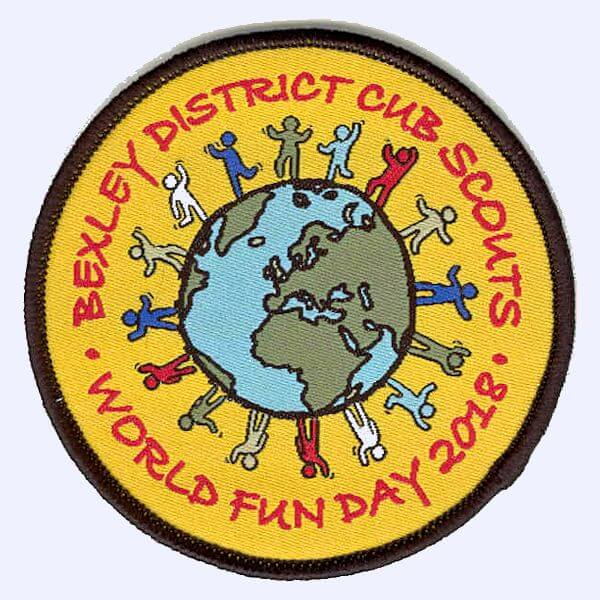Bexley Cubs World Fun Day 2018 badge