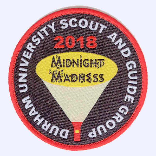 Durham University Scouts and Guides Group 2018 badge