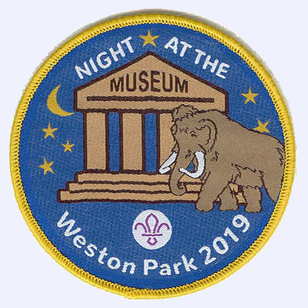 Doncaster Scouts Night at Weston Park badge