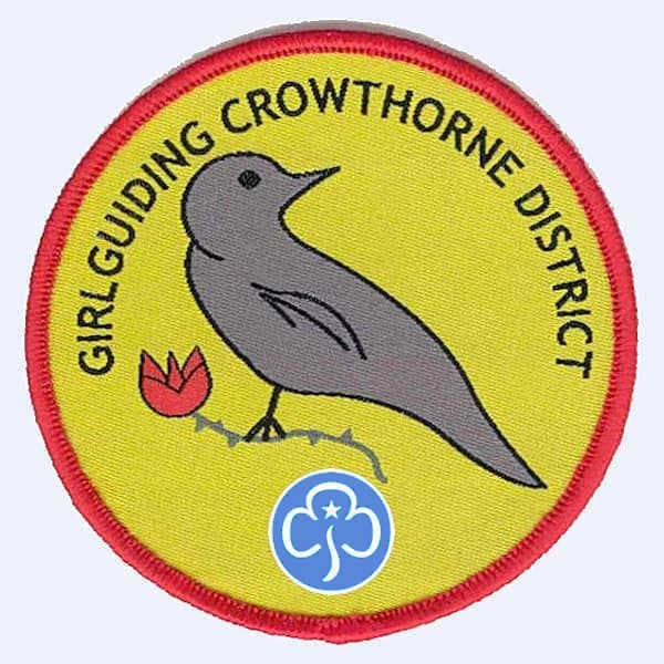 Crowthorne District Guides badge