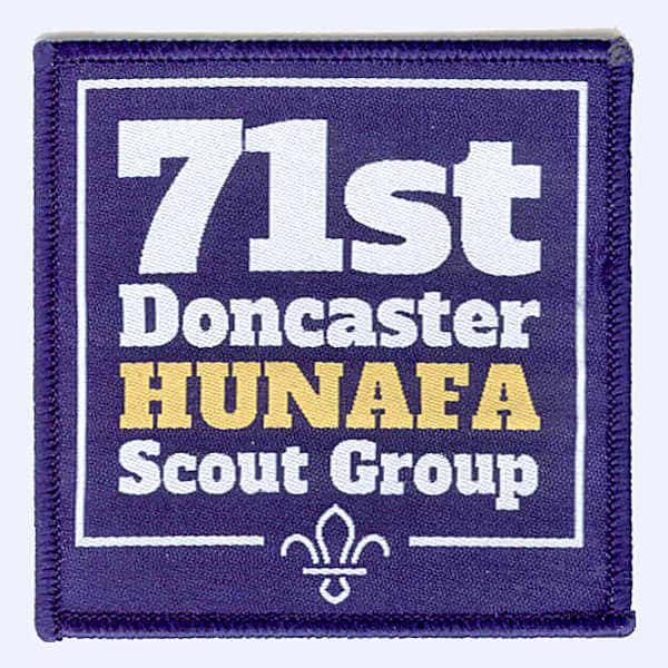 71st Doncaster Hunafa Scout Group badge