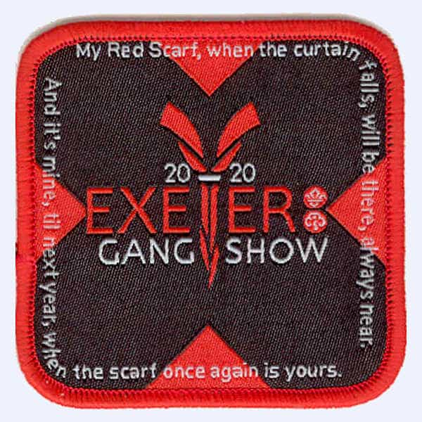 Exeter Gang Show 2020 badge