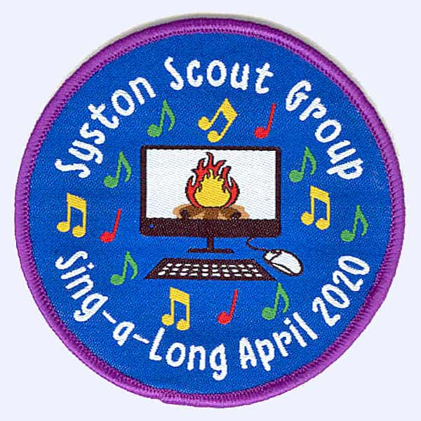 Syston Scout Group 2020 badge