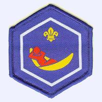 Scout Leader retirement badge badge