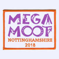 Nottinghamshire MegaMoot 2018 badge