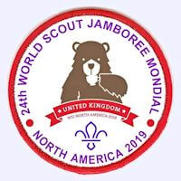 24th World Scout Jamboree badge