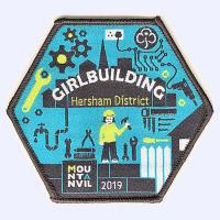 Nottingham Badges | Girlguiding Hersham District 2019 badge