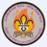 Nottingham Badges | Glamorgan West Le Breos Camp 2019 badge