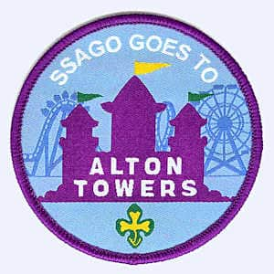 SSAGO Alton Towers 2019 badge
