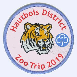 Nottingham Badges | GirlGuiding Hautbois District badge