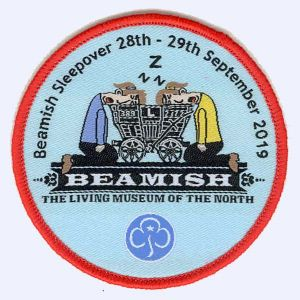 Nottingham Badges | Guides and Brownies Beamish sleepover badge