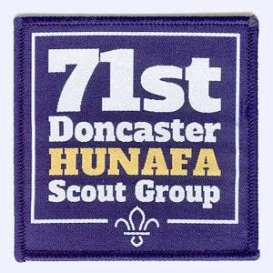 Nottingham Badges | 71st Doncaster Hunafa Scout Group badge
