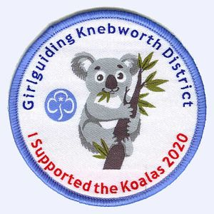 Nottingham Badges | Girlguiding Knebworth I supported the Koalas badge
