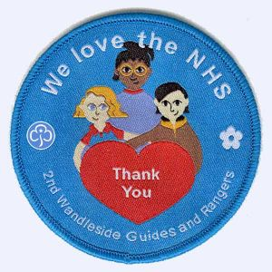 Nottingham Badges | 2nd Wandleside Guides and Rangers badge