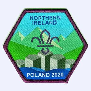 Nottingham Badges | N Ireland Poland EuroJam 2020 badge