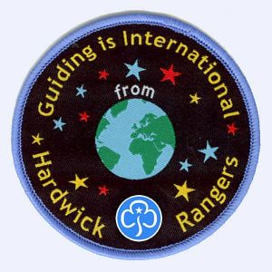 Nottingham Badges | Hardwick Rangers Girlguiding badge