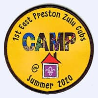 1st East Preston Zulu Cubs Camp at Home 2020