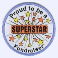Nottingham Badges | Hetherset Guides Superstar Fundraiser badge