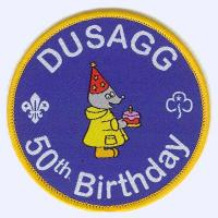 Durham University Scout & Guide Group badge
