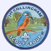 1st Collingham Scout Group badge